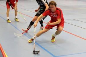 Pontus Persson var inblandad i alla fem målen, 2 mål och 3 assist